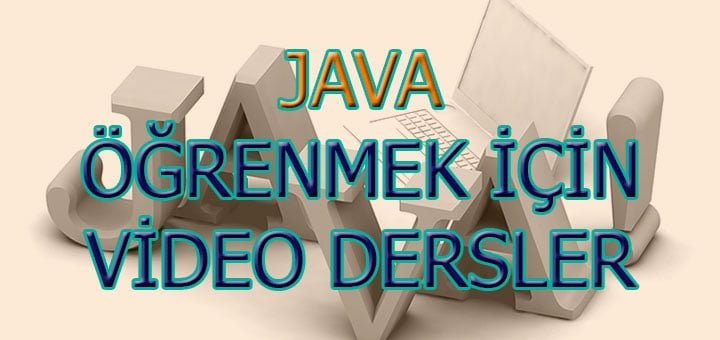 Java-Video-Dersler